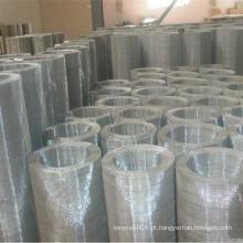 Malha de metal de aço inoxidável revestida de PVC