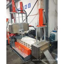 Máquina granuladora de plástico para reciclagem de plástico PVC ABS