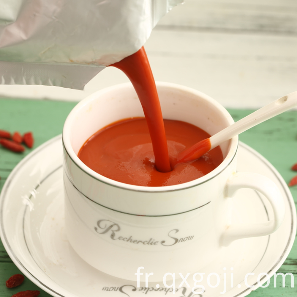 Hot Sale Concentrated Goji Juice