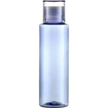 PET grosso 120ml garrafa clara com tampa de rosca PP