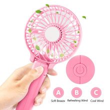 China for Rechargeable Fan Portable Handheld Mini Foldable Cooling Fan for Home export to Indonesia Exporter