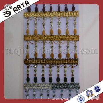 Grânulos personalizados de plástico e cortina feita em portas de casa e jardim