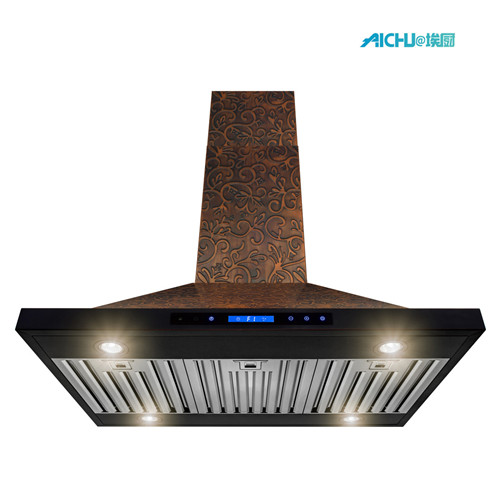 36 inch covertible island range hood