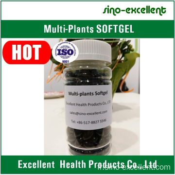 Extraits multi-plantes softgel / capsules molles