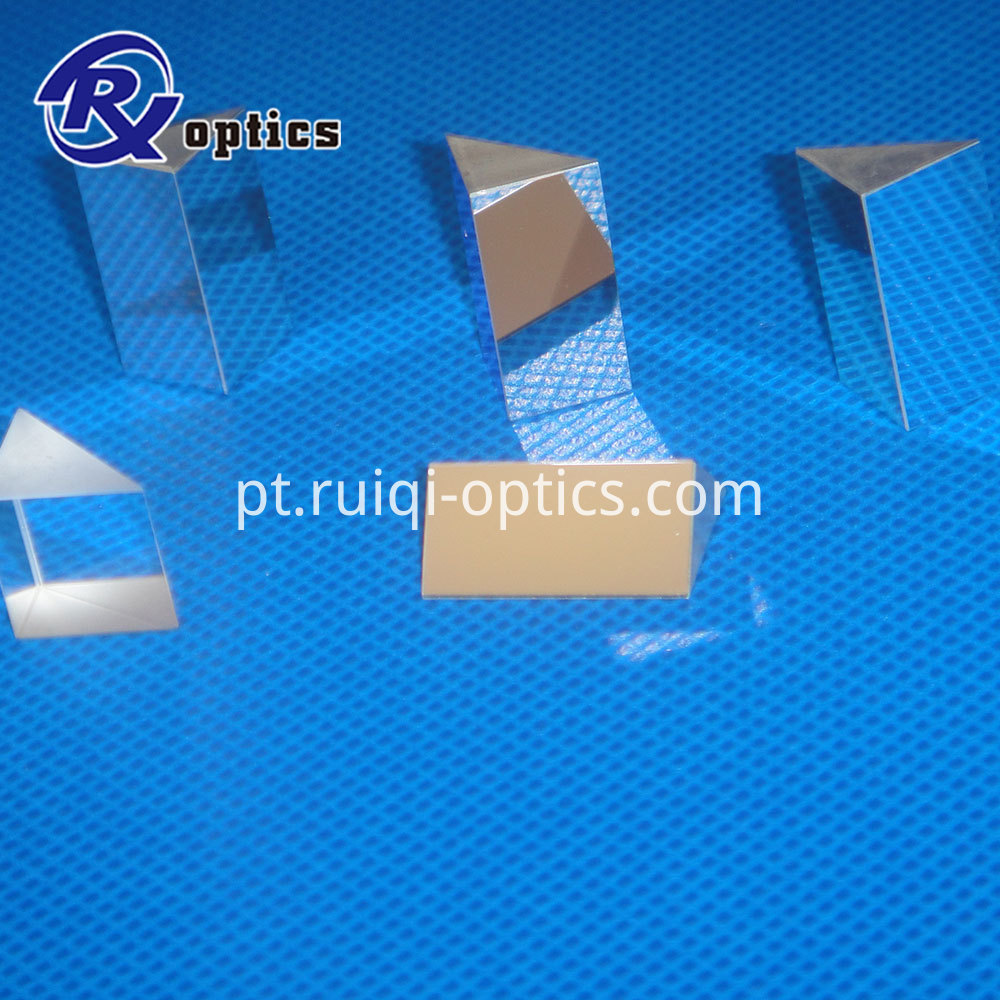 Glass Triangular Prism