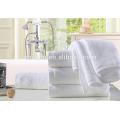 100% Baumwolle 32s Double Garn Dicke Gut Wasser Absorbent Hotel White Towels