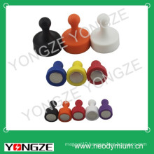 colorful magnetic plastic nail