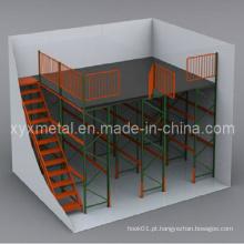 Mezzanine Floor Multi Levels Armazém Estante do sótão