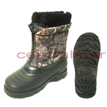 Fashion Camo Winter Snow Boots for Kids (SB004)