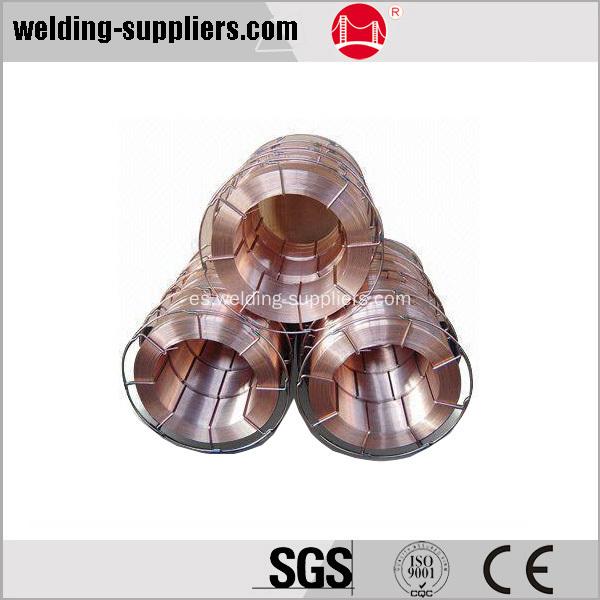 Bajo carbono acero alambre de soldadura er70s 6 - Alambre de acero ...