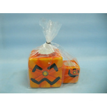 Artisanat en céramique en forme de bougie de Halloween (LOE2371-12z)