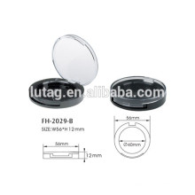 Round Empty Compact Powder Container