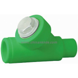 Minde PPR fitting hot selling Type Y Filter Valve