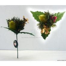 Plastic Decorative Custom Christmas ornaments,Christmas pick
