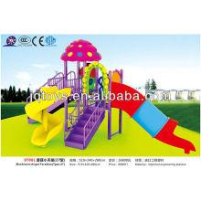 JS07001 Bom Design Crianças Plástico Outdoor Playground Set