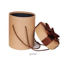 Футболка цилиндра картона пробки картона Бумажная Коробка подарка