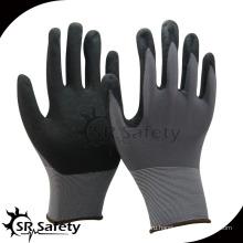 SRSAFETY 13g перчатка / рабочие перчатки / защитные перчатки с песчаным покрытием