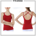 OEM Custom Fitness Wear Alta Qualidade Mulheres Yoga Tops