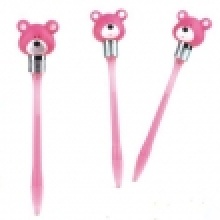Bear Shape Bump Pen Set