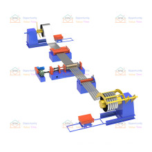Middle East steel industry Slitting Line roll forming machine