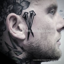 Male full body tattoo paper 3d tattoo sticker for men