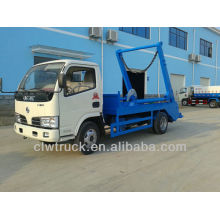Dongfeng 4-5m3 4x2 roll off container garbage truck