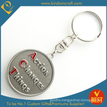 Factory Price Promotional Stamping 3 D Metal Key Chain in High Quality From China