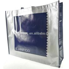 2015 new design silver metallic tote bags