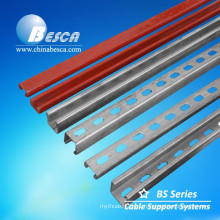 Cheap High Quality Slotted or Plain Strut Channel Unistrut Supplier