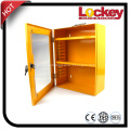 Yellow Steel Combination Safety Group Lockout Tagout Box