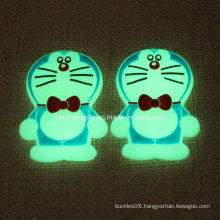 Promotion Custom PVC Doraemon with Golw in Dark