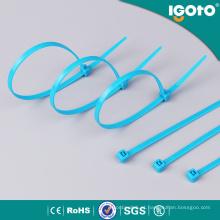 Laço de cabo de nylon azul para fios