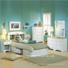 Набор для спальни с 4-мя спальнями White White Captain