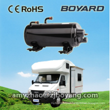 boyang horizontal rotary compressor for caravan electric air conditioner