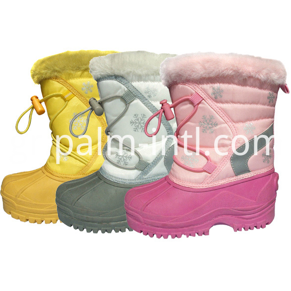 Colourful Kids Winter Boots