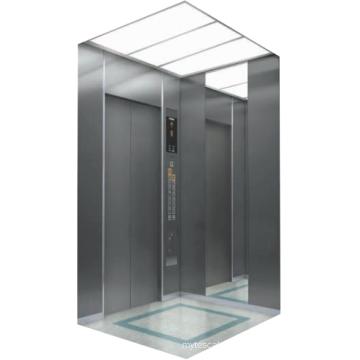New Black Titanium Mirror Etching Stainess Steel Lift Passenger elevator