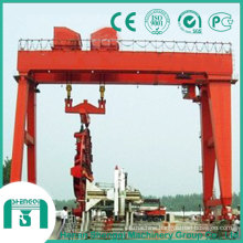 400t Crane to Lifting Cutter and Shield for Tunnel Construction