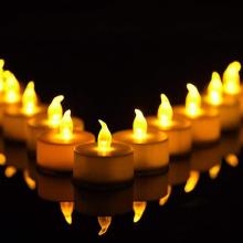 LED Garten Licht Kerze flammenlos LED Kerze