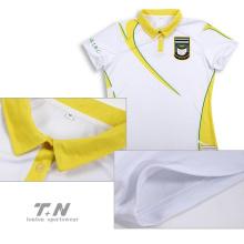 Вышитая рубашка поло с логотипом высокого качества