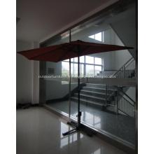 Moitié parasol rond plein air UV Polyester