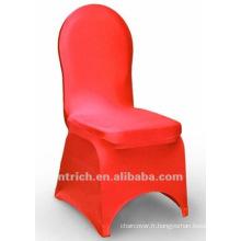 couverture de chaise de banquet, couverture de chaise de lycra, CTS807 rouge, adapté pour toutes les chaises