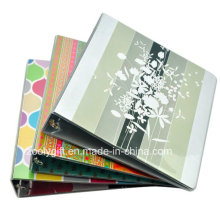 "Customized Printing 1 "" A4 PVC File Folder with 3 Ring Binder"