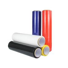 Cast Polyethylene Packaging Black Shrink Colored Wrap Film Bundling Stretch Film