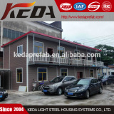Two Storeys Luxury Prefabricated House Office Building Block