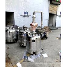 100L 200L Micro whisky Vodka destilería equipo alcohol hogar destilación columna