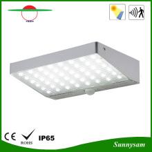 Práctico duradero de aluminio 48LED Dim modo de luz de pared solar al aire libre lámpara solar