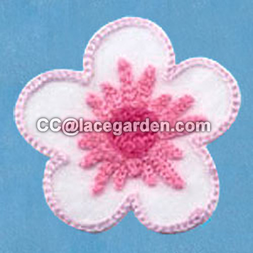 Nice Flower Design Chenille\Chain Embroidery Series