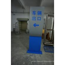 Carteles publicitarios de acrílico Publicidad Stand Monolith Cartelería arquitectónica
