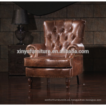Sofá de sofá de brazos de salón de estilo antiguo francés A628