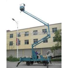 Gelenkteleskoparbeitsbühne mit Eigenantrieb / Anhängemaschine mit Gelenkarbeitsbühne